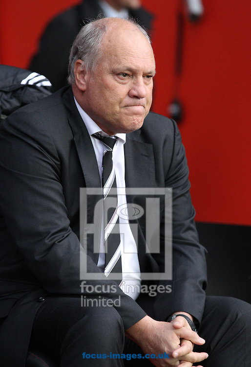 Picture by Paul Terry/Focus Images Ltd +44 7545 642257<br /> 26/10/2013<br /> Martin Jol, Manager of Fulham during the Barclays Premier League match at the St Mary's Stadium, Southampton.