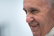 Pope Francis gazes on the city of Philadelphia on his first visit to the United States.