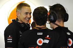 12.11.2011, Yas-Marina-Circuit, Abu Dhabi, UAE, Grosser Preis von Abu Dhabi, im Bild Martin Whitmarsh (GBR), McLaren, Team - Chief  // during the Formula One Championships 2011 Large price of Abu Dhabi held at the Yas-Marina-Circuit, 2011/11/12. EXPA Pictures © 2011, PhotoCredit: EXPA/ nph/ Dieter Mathis..***** ATTENTION - OUT OF GER, CRO *****