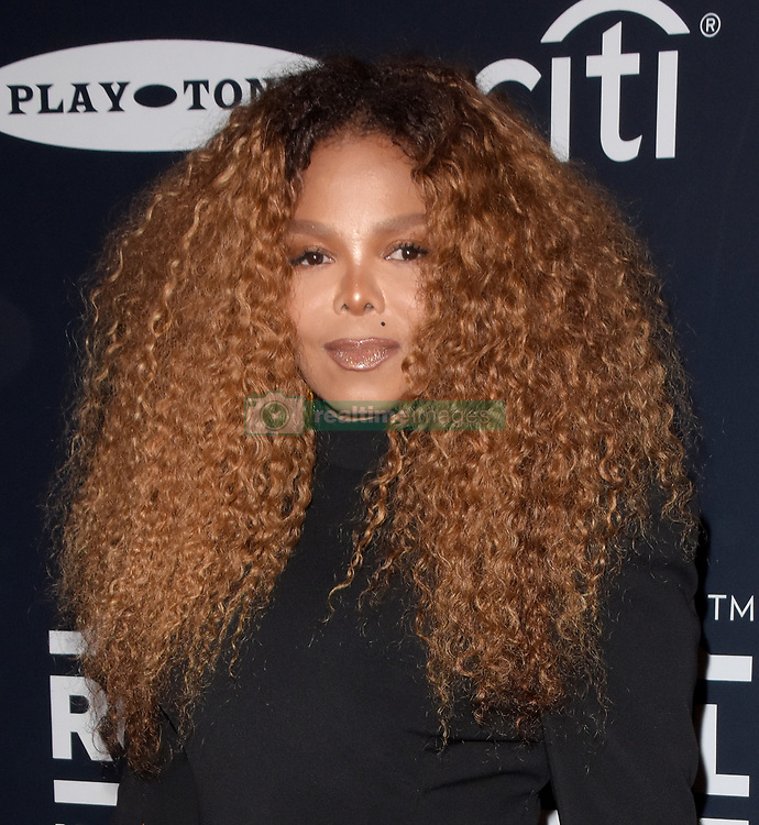 March 30, 2019 - Brooklyn, New York, USA - NEW YORK, NEW YORK - MARCH 29: Janet Jackson attends the 2019 Rock & Roll Hall Of Fame Induction Ceremony at Barclays Center on March 29, 2019 in New York City. Photo: imageSPACE (Credit Image: © Imagespace via ZUMA Wire)