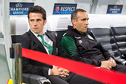 Marco Silva, head coach of Sporting Lisbon, before football match between NK Maribor and Sporting Lisbon (POR) in Group G of Group Stage of UEFA Champions League 2014/15, on September 17, 2014 in Stadium Ljudski vrt, Maribor, Slovenia. Photo by Matic Klansek Velej  / Sportida.com