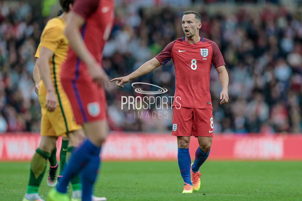 Danny Drinkwater (England) during the Friendly International match match between England and Australia at the Stadium Of Light, Sunderland, England on 27 May 2016. Photo by Mark P Doherty.