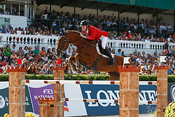 Devos Pieter (BEL) - Candy<br /> Furusiyya FEI Nations Cup Jumping Final <br /> CSIO Barcelona 2013<br /> © Dirk Caremans