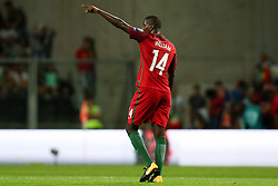 August 31, 2017 - Porto, Porto, Portugal - Portugal's midfielder William Carvalho celebrates after scoring a goal during the FIFA World Cup Russia 2018 qualifier match between Portugal and Faroe Islands at Bessa Sec XXI Stadium on August 31, 2017 in Porto, Portugal. (Credit Image: © Dpi/NurPhoto via ZUMA Press)