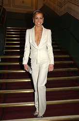 TARA PALMER-TOMPKINSON at the opening night of Cirque Du Soleil's 'Alegria' held at the Royal Albert Hall, London on 5th January 2007.<br /><br />NON EXCLUSIVE - WORLD RIGHTS
