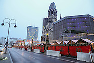 Berlin - Reopened Christmas Market - 22 Dec 2016
