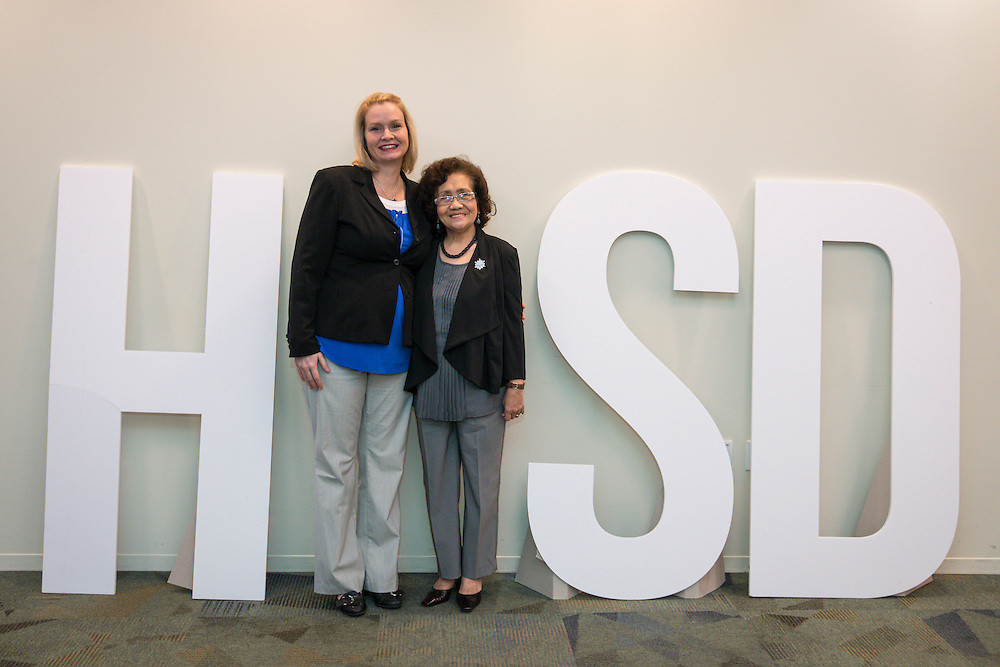 Houston ISD highly effectve teachers are recognized during a breakfast and principal meeting, March 5, 2014.