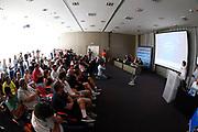 Conferenza<br /> Raduno Nazionale Maschile Senior<br /> Presentazione Sacchetti, T-Hotel<br /> Cagliari, 05/08/2017<br /> Foto Ciamillo-Castoria/ GiulioCIamillo