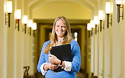 Story profile on Elle Beard, graduate School of Public Policy.