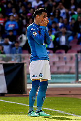 April 8, 2018 - Naples, Italy - Josè Callejon (SSC Napoli)..during the Italian Serie A football SSC Napoli v Chievo Verona at S. Paolo Stadium..in Naples on April 08, 2018  (Credit Image: © Paolo Manzo/NurPhoto via ZUMA Press)