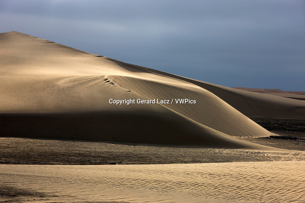Sand Dunes near Walvis Bay in Namibia