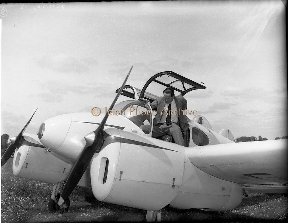 20/05/1956<br /> 05/20/1956<br /> 20 May 1956<br /> Aero Club of Ireland Annual Air Show at Weston airfield, Leixlip, Co. Kildare.