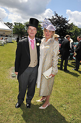 ADAM & LUCY HELLICKER at day 1 of the Royal Ascot Racing Festival 2012 held on 19th June 2012.