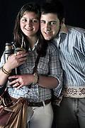 Javier Calvelo/ URUGUAY/ MONTEVIDEO/ FOTOGRAFIA/ Expoprado - Exposicion Rural del Prado de Montevideo/ Proyecto documental sobre la identidad, lo nacional, lo Uruguayo. Se trata de retratos simples mirando a camara y con un fondo neutro. Les pregunto a los fotografiados como quieren ser recordados en el futuro y de que localidad del Uruguay son.<br /> El titulo esta basado en la obra de Raymond Firth, Tipos Humanos. (Raymond William Firth, ( 1901-2002) fue un etn&oacute;logo neozeland&eacute;s profesor de Antropolog&iacute;a en la London School of Economics, es uno de los fundadores de la antropolog&iacute;a econ&oacute;mica brit&aacute;nica). <br /> En la foto:  Tipos Humanos en Expoprado, Veronica Acevedo, Canelnes, y Eric Martinez, Durazno . Foto: Javier Calvelo <br /> erick_martinez2009@hotmail.com<br /> 2013-09-06 dia viernes