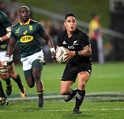 New Zealand's Aaron Smith against South Africa in the Investic Championship rugby test match at QBE Stadium, Albany, Auckland New Zealand, Saturday, September 16, 2017. Credit:SNPA / Ross Setford** NO ARCHIVING**