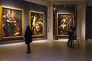 L'Ultimo Caravaggio, eredi e nuovi maestri (Last Caravaggio, Heirs and new Masters) exhibition at Gallerie d'Italia, Intesa Sanpaolo Museum, in Milan on November 30, 2017. © Carlo Cerchioli
