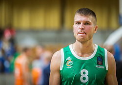 8# Edo Muric of KK Cedevita Olimpija during the friendly match between KK Cedevita Olimpija Ljubljana and Ratiopharm Ulm on 11.9.2019 in Hala Tivoli, Ljubljana, Slovenia. Photo by Urban Meglič / Sportida