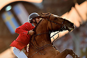 Steve GUERDAT (SUI) riding Hannah during the Nations Cup of the World Equestrian Festival, CHIO of Aachen 2018, on July 13th to 22th, 2018 at Aachen - Aix la Chapelle, Germany - Photo Christophe Bricot / ProSportsImages / DPPI
