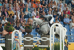 Alvarez Moya Sergio, (ESP), Carlo 273<br /> Team completion and 2nd individual qualifier<br /> FEI European Championships - Aachen 2015<br /> © Hippo Foto - Dirk Caremans<br /> 20/08/15