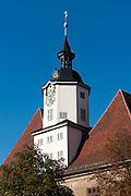 Historisches Rathaus, Rathausturm, Jena, Thüringen, Deutschland | historical guild hall  tower, Jena, Thuringia, Germany