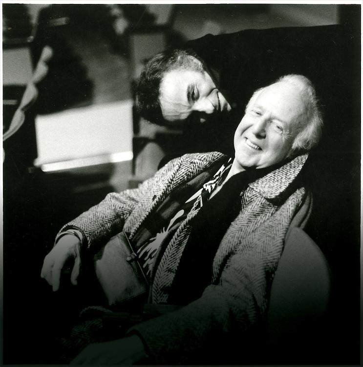 Alwin Nikolais (forefront) and Murray Louis.