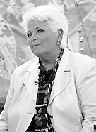 Pam St Clement on Loose Women Live on ITV1 / Image Can be licensed for use at www.rexfeatures.com