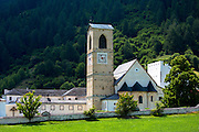 Convent of St John, Baselgia San Jon, a Benedictine Monastery in Mustair, Switzerland