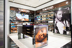 Tom Ford retail shoot, Geneva International Airport
