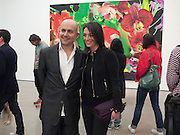 MARC QUINN; MARY MCCARTNEY, Marc Quinn exhibition opening. Allanah, Buck, Catman, Michael, Pamela and Thomas. White Cube Hoxton Sq. London. 6 May 2010.  *** Local Caption *** -DO NOT ARCHIVE-© Copyright Photograph by Dafydd Jones. 248 Clapham Rd. London SW9 0PZ. Tel 0207 820 0771. www.dafjones.com.<br /> MARC QUINN; MARY MCCARTNEY, Marc Quinn exhibition opening. Allanah, Buck, Catman, Michael, Pamela and Thomas. White Cube Hoxton Sq. London. 6 May 2010.