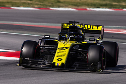 February 28, 2019 - Barcelona, Barcelona, Spain - Nico Hulkenberg from Germany with 27 Renault F1 Team RS19 in action  during the Formula 1 2019 Pre-Season Tests at Circuit de Barcelona - Catalunya in Montmelo, Spain on February 28. (Credit Image: © Xavier Bonilla/NurPhoto via ZUMA Press)