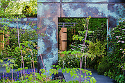 The Brewin Dolphin garden. The Chelsea Flower Show 2014. The Royal Hospital, Chelsea, London, UK. 19 May 2014.