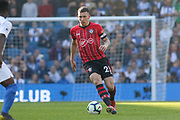 Southampton midfielder Pierre-Emile Hojbjerg (23) during the Premier League match between Brighton and Hove Albion and Southampton at the American Express Community Stadium, Brighton and Hove, England on 30 March 2019.