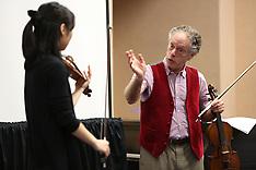 Master Class - Collegiate Level Violin
