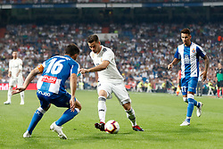 September 22, 2018 - Nacho of Real Madrid during the La Liga (Spanish Championship) football match between Real Madrid and RCD Espanyol on September 22th, 2018 at Santiago Bernabeu stadium in Madrid, Spain. (Credit Image: © AFP7 via ZUMA Wire)