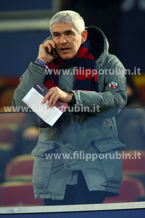"Foto Filippo Rubin<br /> 24/02/2018 Bologna (Italia)<br /> Sport Calcio<br /> Bologna - Genoa - Campionato di calcio Serie A 2017/2018 - Stadio ""Renato Dall'Ara""<br /> Nella foto: PIER FERDINANDO CASINI<br /> <br /> Photo by Filippo Rubin<br /> February 24, 2018 Bologna (Italy)<br /> Sport Soccer<br /> Bologna vs Genoa - Italian Football Championship League A 2017/2018 - ""Renato Dall'Ara"" Stadium <br /> In the pic: PIER FERDINANDO CASINI"