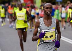 Wsley Kibet Langat of Kenya at 14th Marathon of Ljubljana, on October 25, 2009, in Ljubljana, Slovenia.  (Photo by Vid Ponikvar / Sportida)