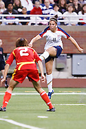(11 US) Carli Lloyd & (2 China) Yuan Fan. US Women National Team vs. China. US 1 China 0