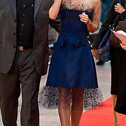 London Sep 3rd  Kiera Knightley attentd the Premiere of her latest movie Duchess in Leicester Square