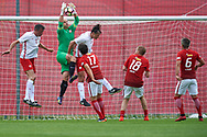 Lublin, Poland - 2017 June 16: during soccer match Football Media Team PL v PZPN at Lublin Arena on June 16, 2017 in Lublin, Poland.<br /> <br /> Mandatory credit:<br /> Photo by © Adam Nurkiewicz / Mediasport<br /> <br /> Adam Nurkiewicz declares that he has no rights to the image of people at the photographs of his authorship.<br /> <br /> Picture also available in RAW (NEF) or TIFF format on special request.<br /> <br /> Any editorial, commercial or promotional use requires written permission from the author of image.