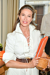 CORINNE RICARD at the Jaeger-LeCoultre Gold Cup draw 2016 held at Jaeger-LeCoultre, Bond Street, London on 6th June 2016.
