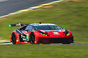 August 17-19 2018: IMSA Weathertech Michelin GT Challenge at VIR. 48 Paul Miller Racing, Lamborghini Huracan GT3, Bryan Sellers, Madison Snow