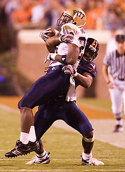 The Virginia Cavaliers faced the Pittsburgh Panthers at Scott Stadium in Charlottesville, VA on September 29, 2007.