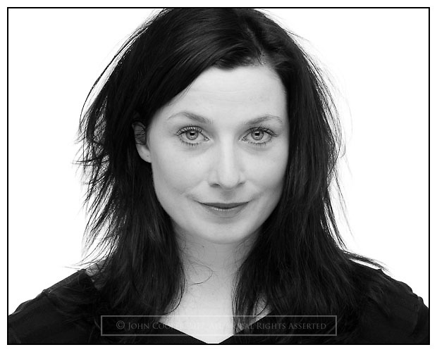 Headshot of actress Claire Knight, who plays Iona McIntyre in BBC Scotlands' River City.