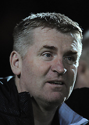 Walsall's Manager Dean Smith  - Photo mandatory by-line: Harry Trump/JMP - Mobile: 07966 386802 - 03/03/15 - SPORT - Football - Sky Bet League One - Yeovil v Walsall - Huish Park, Yeovil, England.