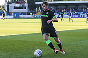 Forest Green Rovers Dayle Grubb(8) during the EFL Sky Bet League 2 match between Macclesfield Town and Forest Green Rovers at Moss Rose, Macclesfield, United Kingdom on 29 September 2018.