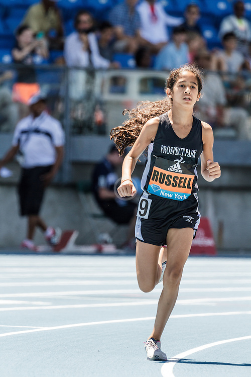 adidas Grand Prix Diamond League Track & Field: youth girls mile, Avery Russell