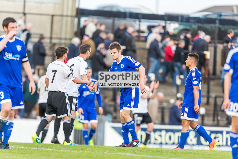 Jamie Redman after the Scottish League 1 fixture between Ayr Utd and Peterhead (c) ROSS EAGLESHAM | Sportpix.co.uk