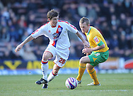London - Friday, December 26th, 2008: John Oster of Crystal Palace and Sammy Clingan of Norwich City during the Coca Cola Championship match at Selhurst Park, London. (Pic by Alex Broadway/Focus Images)