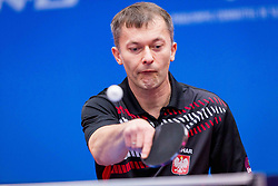 POLAND (NALEPKA Maciej and CZERWINSKI Mariusz) during day 5 of 15th EPINT tournament - European Table Tennis Championships for the Disabled 2017, at Arena Tri Lilije, Lasko, Slovenia, on October 2, 2017. Photo by Ziga Zupan / Sportida