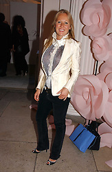 ALICE BAMFORD at a party to celebrate the opening of Roger Vivier in London held at The Orangery, Kensington Palace, London on 10th May 2006.<br />